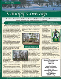 Canopy Coverage Newsletter